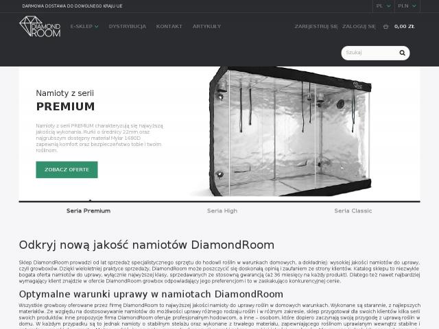 DiamondRoom • Zestaw Mini Growbox