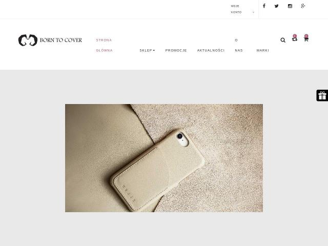 Bartosz Baran Born to Cover • iPhone 6s etui